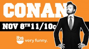 Conan Renewed Through 2018 By TBS!