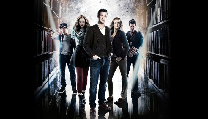 is the librarians on hulu