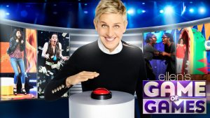 Ellen's Game Of Games Renewed For Season 2 By NBC!